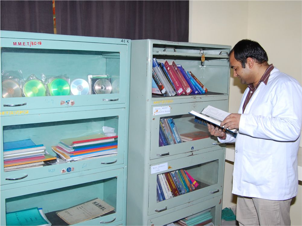 Record Room - Case based Learning expanse that boasts of extensive records of patients.