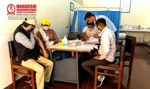 Free Covid Vaccination Drive Organised in MM(DU) Campus