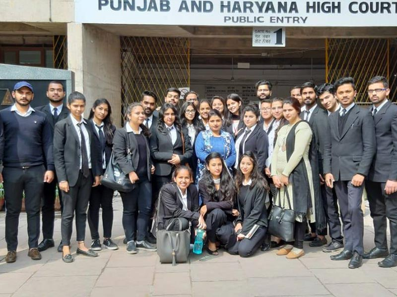 High Court's visit