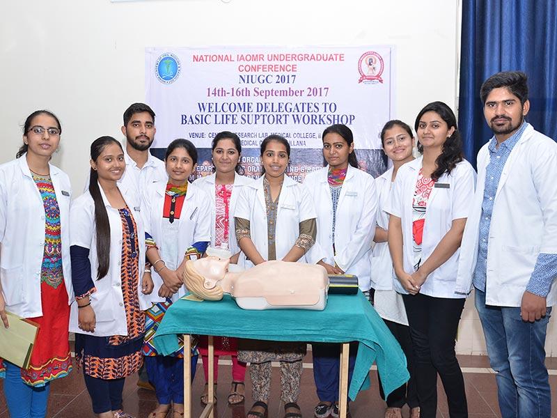 Workshop on Basic Life Support 2017