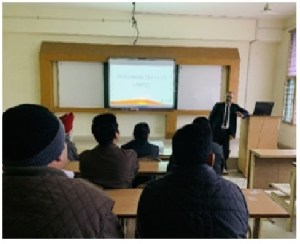 Guest Lecture by Mr. Rajiv Mehani
