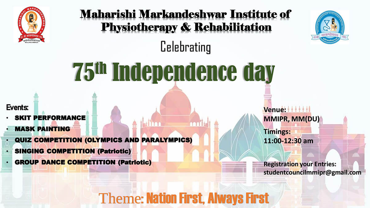 Independence Day 2021 – MMIPR
