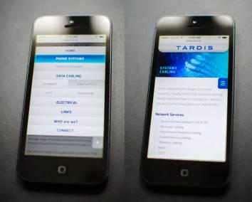 Tardis-website-phone-samples