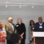 Image of Thad Wilderson receiving award from MPA diversity committee