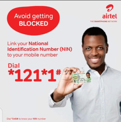 Link your Airtel number to your NIN