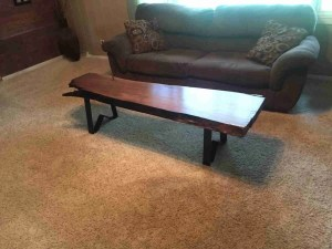 Minnesota Raw Barnwood Table
