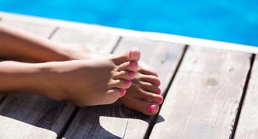 Pedicures Calgary feet image