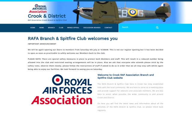 Crook & District RAF Association