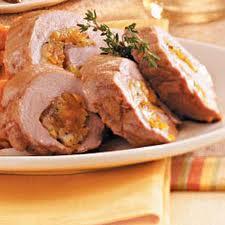 Apricot Stuffed Pork Loin