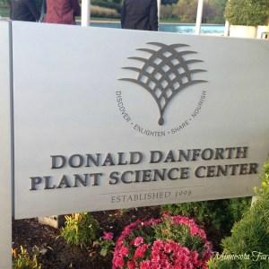 Donald Danforth Plant Science Center sign