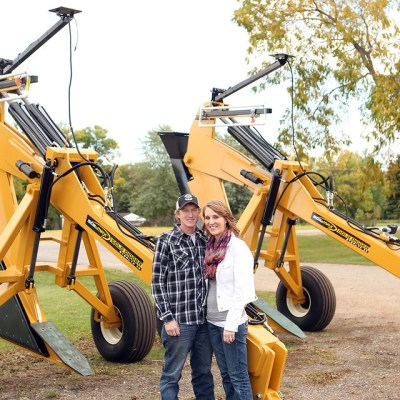 MN Agriculture – Sara and Mark Hewitt and Farming, Drainage Tile and Bees