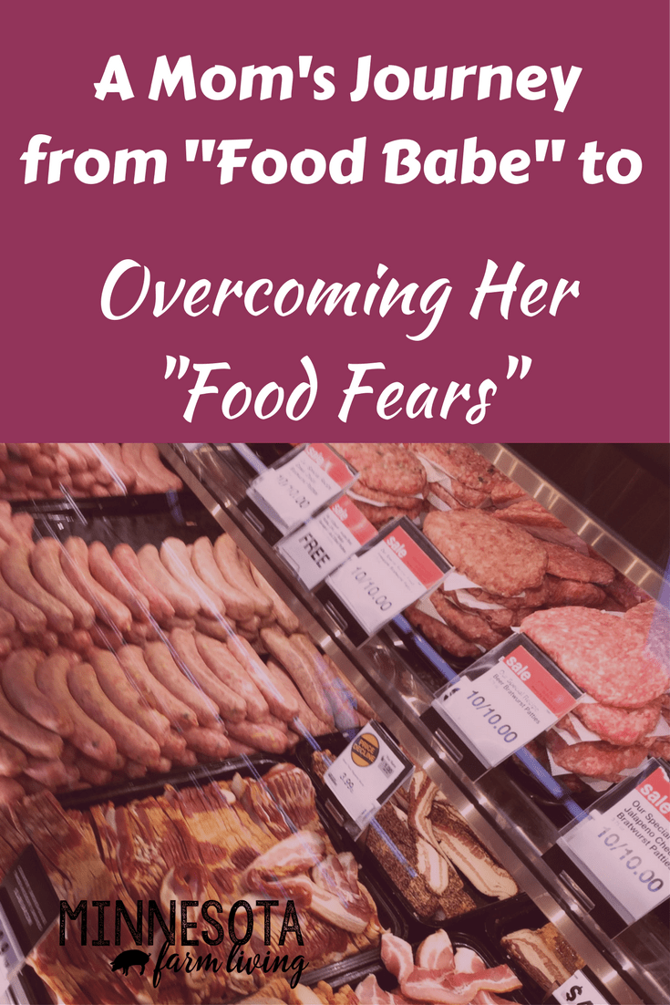 How does a mom who believes the many food untruths and misinformation like what the Farm Babe promotes go to learning the truth about food? Read an interesting journal from a mom who traveled that journey.