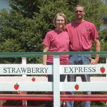 """MN Agriculture: Sarah and Dan Brouwer, """"The Strawberry Express"""""""