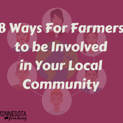 8 Ways For Farmers To Be Involved In Your Local Community