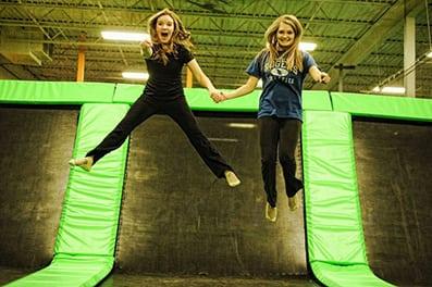Kids Jumping on Airmaxx Trampolines