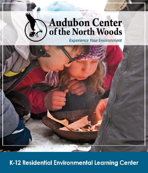 Audubon Center for the North Woods K-12 Brochure