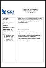 Sensory Awareness Lesson Plan
