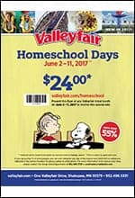 2017 Homeschool Days Flier