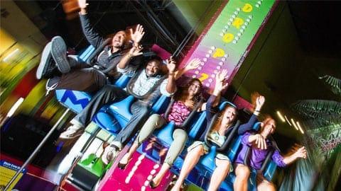Big Thrill factory frog jumper ride