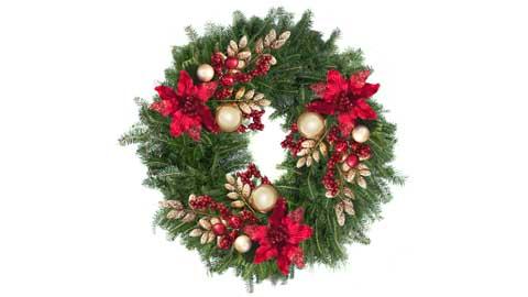 Gertens holiday wreath