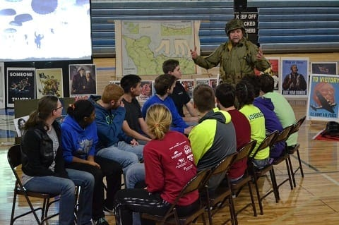 Historical Experiences, classroom experience