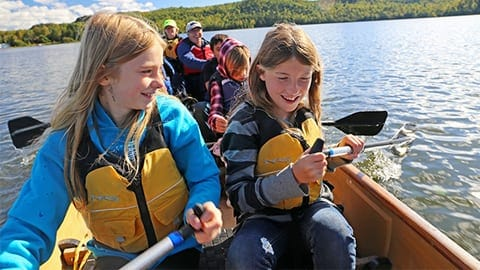 canoe field trip