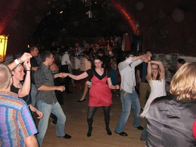 Swing Dancing in the Wabasha Caves