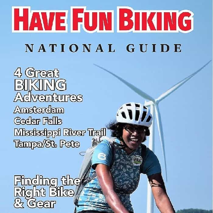 Cover to Have Fun Biking Guidebook