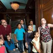 Group Touring James J Hill House