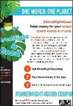 Shred Right Flyer