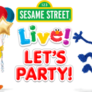 Sesame Street Live Let's Party ad