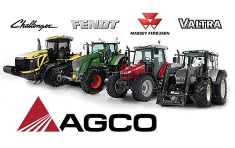 AGCO Tractor Poster Art