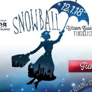 Stages Snowball Gala Ad Art