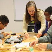 Kids doing engineering