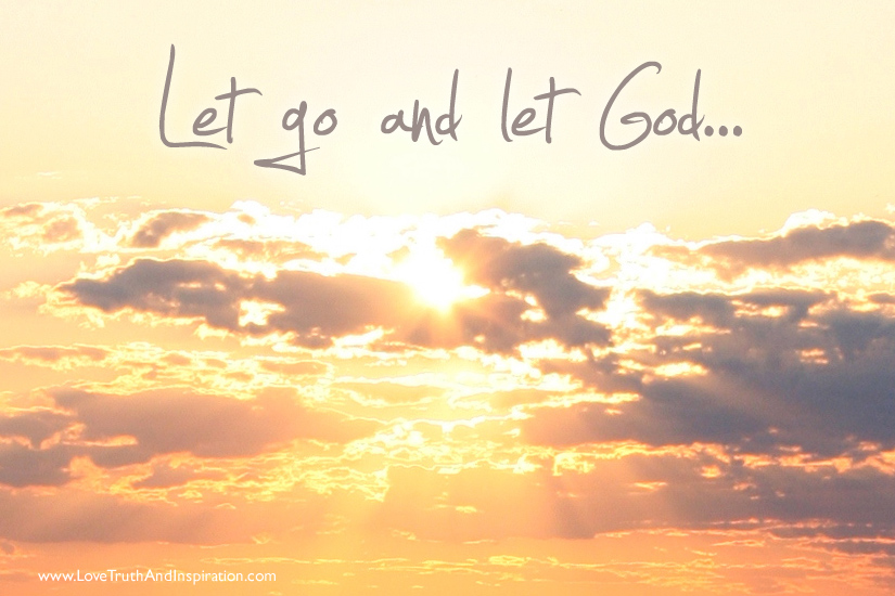 Image result for let go and let god
