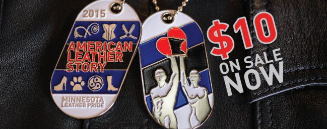 American Leather Story Dog Tags