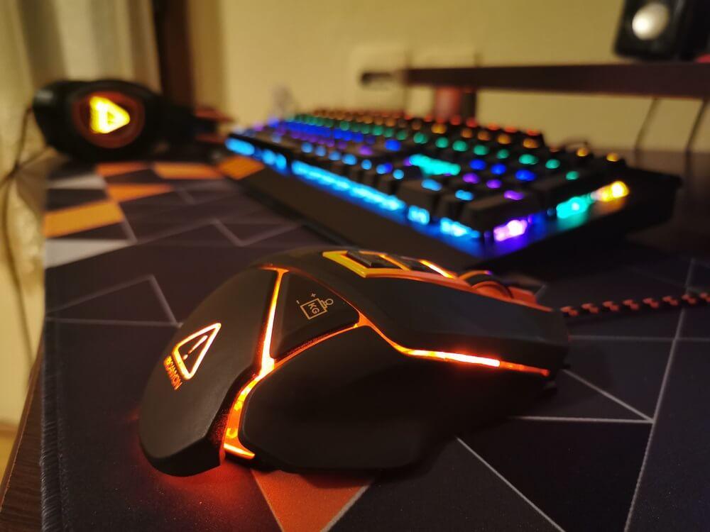Gaming toetsenbord en muis
