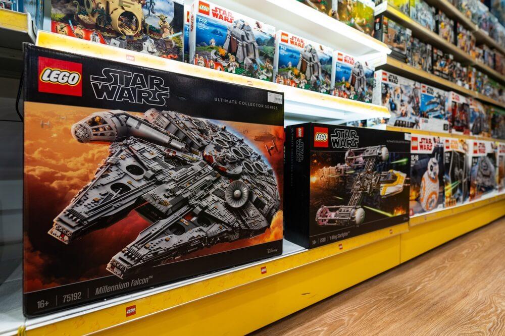 Millennium Falcon Lego