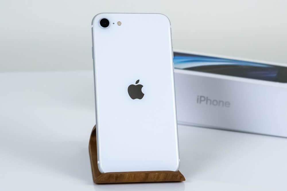 iPhone SE wit
