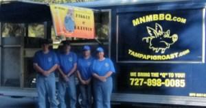 MnMbbq Mobile BBQ Kitchen