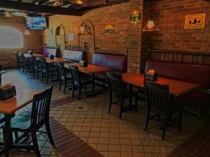 Interior MnM BBQ Restaurant