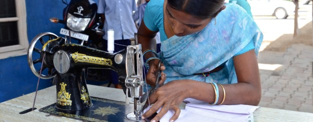 Image result for mother on sewing machine