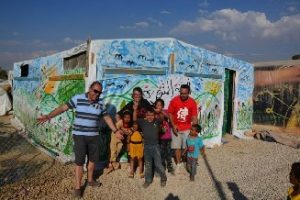 Bible classes for kids in refugee camps