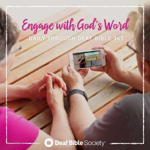 With new Deaf Bible resources, Scripture engagement training needed
