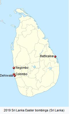 Sri Lanka mourns Easter Sunday bombing victims