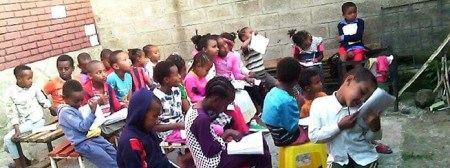 TeachBeyond Provides Food and Education to Locals Living in Ethiopian Slums Devastated by Floods, Locusts and Coronavirus