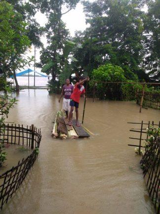 Mission India Flooding devastates Assam in Northeastern India