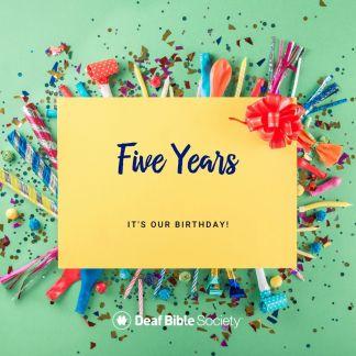 "Deaf Bible Society Celebrates ""The Big Five"""