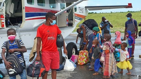 Mission Aviation Fellowship Evacuating Refugees from Insurgent Attacks in Mozambique
