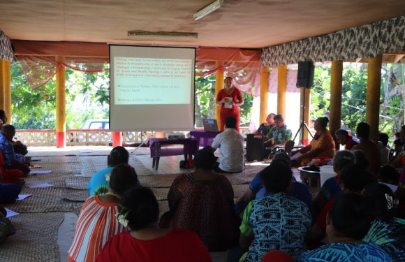 Samoa ABS on the move with Aopo Consultation to Develop Biocultural Community Protocol